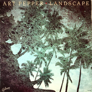 Art Pepper ‎- Landscape (LP) (VG/G-VG)